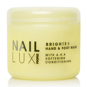 Salon System NailLUX Brighten Hand & Foot Mask