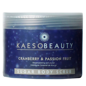 Kaeso Cranberry & Passion Fruit Sugar Body Scrub