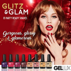 Salon System Gellux Gel Polish Glitz & Glam Collection