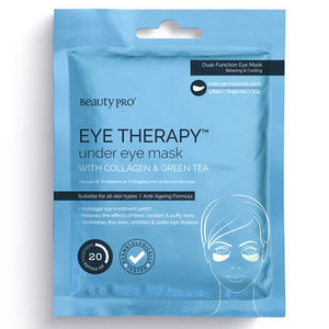 Beauty Pro EYE THERAPY Under Eye Mask with Collagen & Green Tea