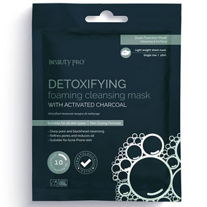 Beauty Pro DETOXIFYING Cleansing & Foaming Mask