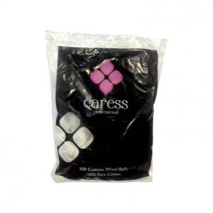 Caress Cotton Wool Balls x100