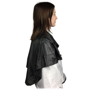 CoolBlades Reusable Black Shampoo Cape