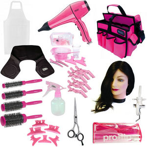 Complete Hairdressing College Kit: Pink