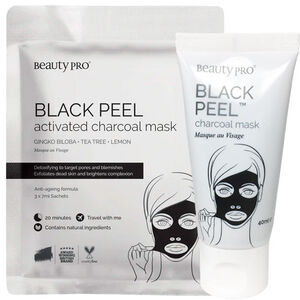 Beauty Pro BLACK PEEL Activated Charcoal Mask
