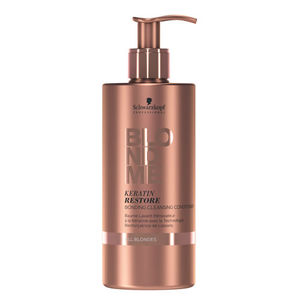 Schwarzkopf Professional BLONDME Keratin Restore Bonding Cleansing Conditioner ALL BLONDES