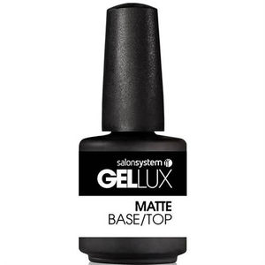 Salon System Gellux Matte Base/Top Coat