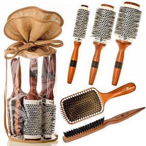 Head Jog Wood Ceramic Brush Set