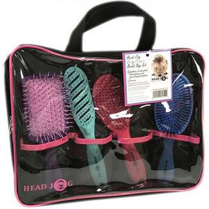 Head Jog Candy Colours Brush Bag Set