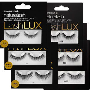 Salon System Naturalash Lashlux Mink Style Strip Lashes