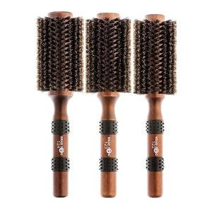 Head Jog Natural Boar Bristle Brush
