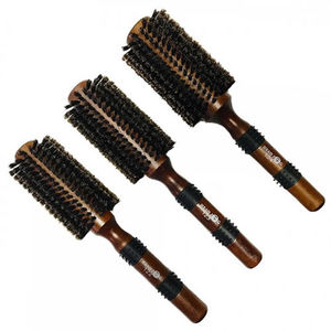 Head Jog Natural Boar Bristle Brush