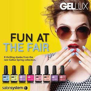 Salon System Gellux Gel Polish Fun At The Fair Collection