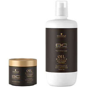 Schwarzkopf BC Oil Miracle Argan Oil Gold Shimmer Treatment