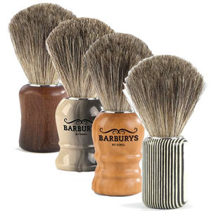 Barburys Grey Shaving Brush