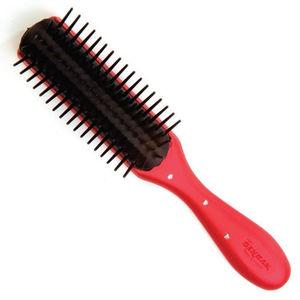 Denman D14 Red Diamante Brush