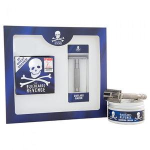 The Bluebeards Revenge Shaving Cream & Cutlass Razor Kit Gift Set