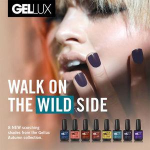 Salon System Gellux Gel Polish Walk On The Wild Side Collection