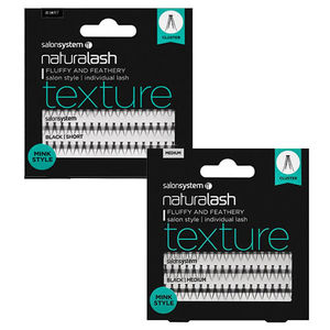 Salon System Naturalash Texture Mink Style Individual Lashes