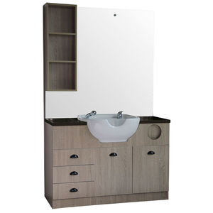 Comair Riga Styling Station With Washbasin