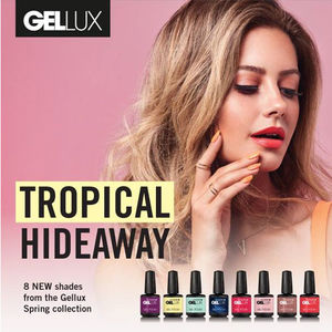 Salon System Gellux Gel Polish Tropical Hideaway Collection