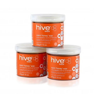 Hive Warm 'Honey' Wax 3 for 2 Pack