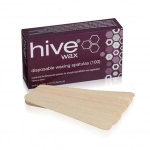 Hive Disposable Wooden Spatulas (x100)