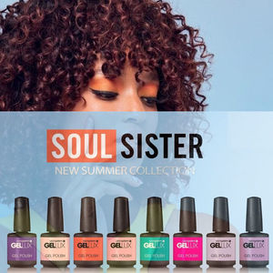 Salon System Gellux Gel Polish Soul Sister Collection
