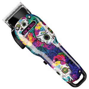 Andis Cordless USPro Lithium Adjustable Clipper Sugar Skull Limited Edition