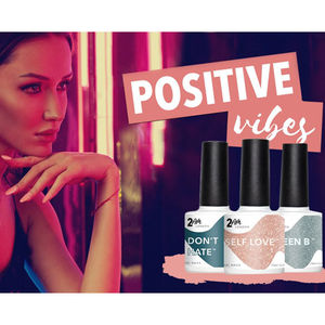 2AM London Gel Polish Positive Vibes Collection