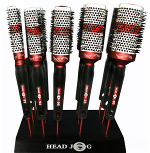Head Jog Heat Wave Brushes