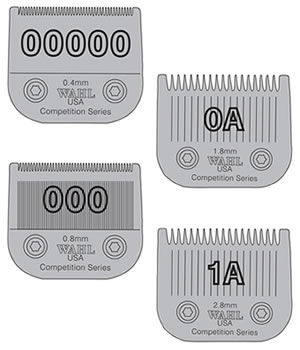 Wahl Competition Series Blades for Wahl Predator