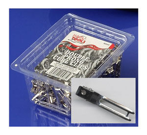 Hair Tools Double Prong Curl Clips (x72)