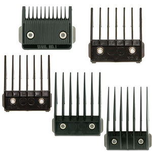 Wahl Metal-Backed Combs - Sizes 2-4 & 8 (6mm-13mm & 25mm)