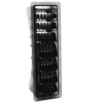 Wahl Set of 8 Black Combs