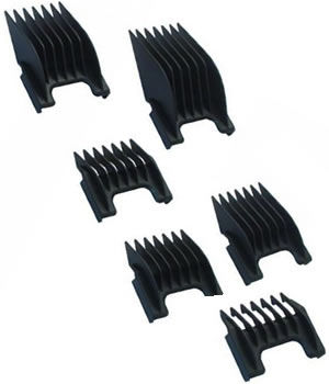 Wahl Set of 6 ChromStyle / Bellissima Combs
