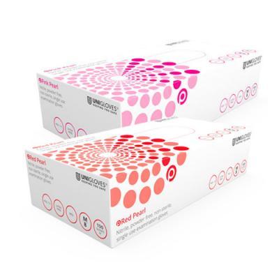 Unigloves Pearl Powder-Free Nitrile Gloves (x100)