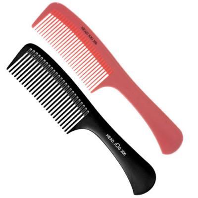Head Jog 206 Detangle Comb (Black or Pink)