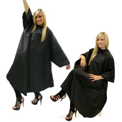 Hair Tools Black Unisex Hairdressing Gown