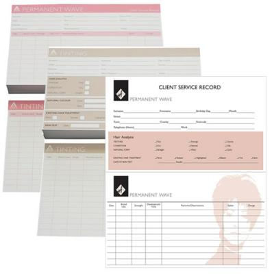 Agenda Hairdressing Record Cards