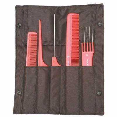 Pro-Tip 5-Comb Set in Mesh Wallet