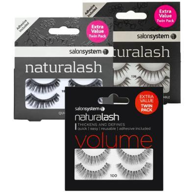 Salon System Naturalash Twin Packs