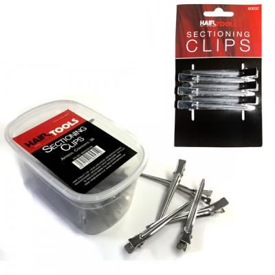 Head Jog/Hair Tools Metal Section Clips