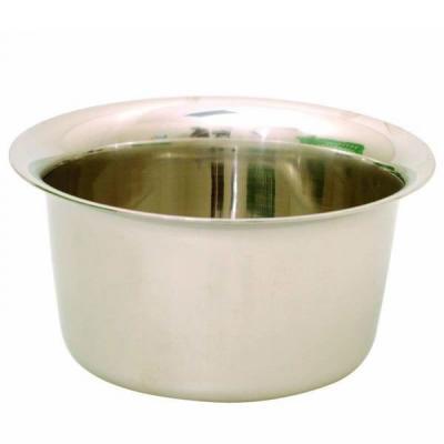 Sibel Chrome Shaving Pot