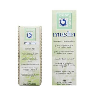 Clean & Easy Muslin Epilating Strips