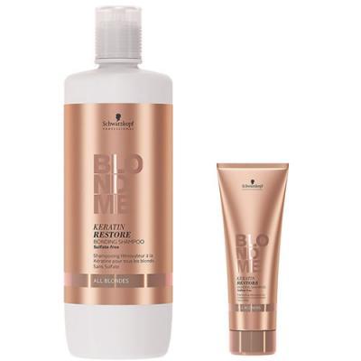 Schwarzkopf Professional BLONDME Keratin Restore Shampoo ALL BLONDES