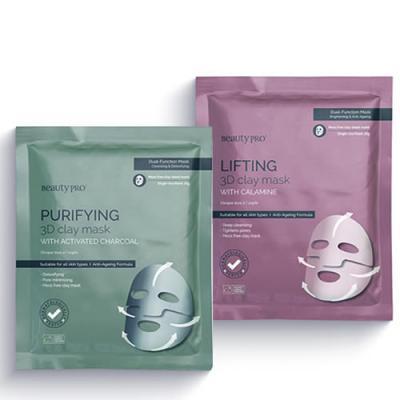 Beauty Pro 3D Clay Mask