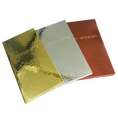Quirepale Metallic Salon Appointment Books