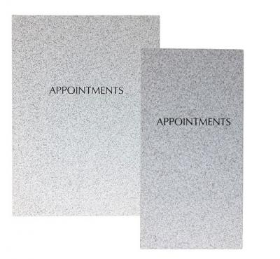Quirepale Grey Appointment Book