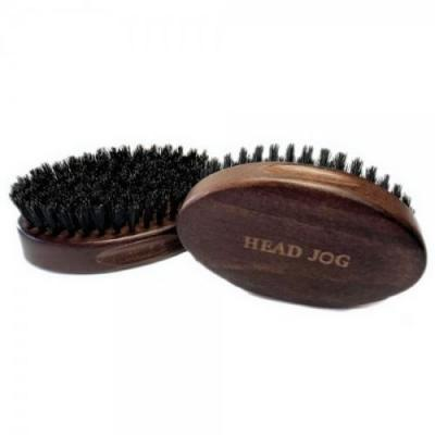 Head Jog Wooden Beard Brush
